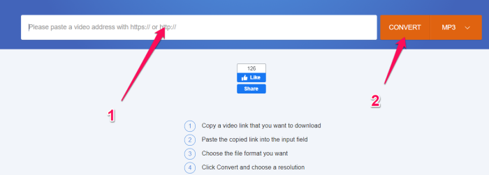 how to save twitter videos online step 2